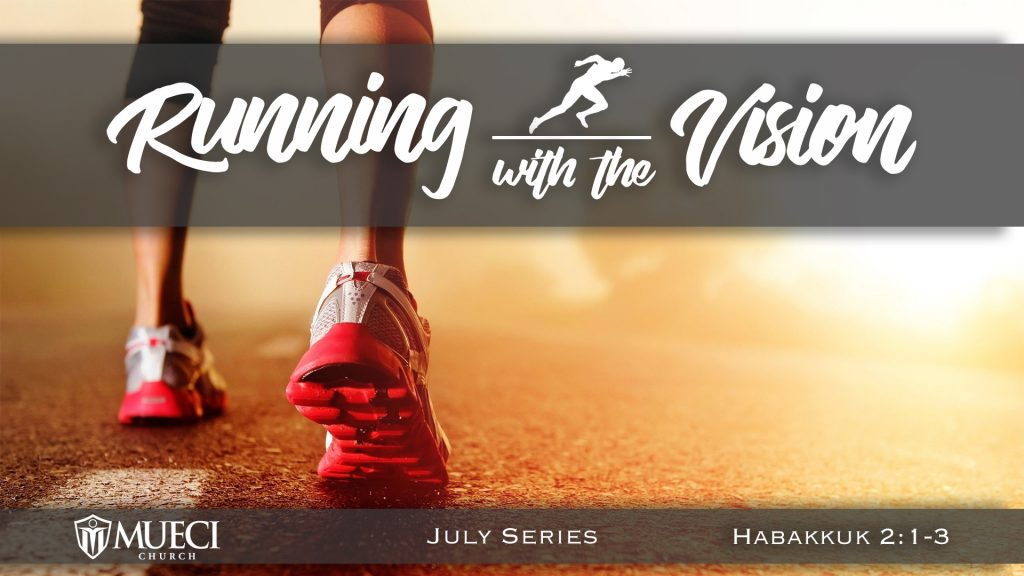Pastor Esteban Nunez Running with the Vision